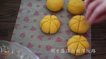 Q弹【南瓜饼】做法简单,一次成功,好吃得不要不要滴