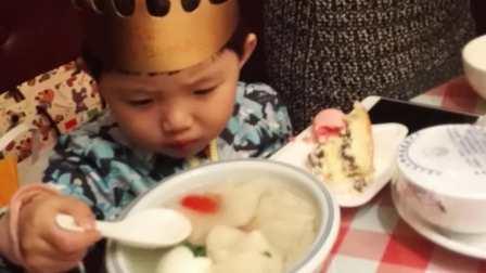 乐乐三岁生日