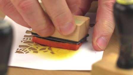 如何用边框模具制作好运锦鲤