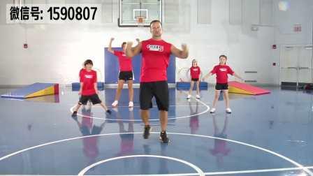 【D4301】美国户外少儿健身视频DVD 5 Training儿童体适能健身教程