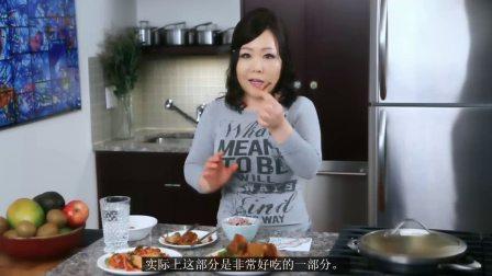 肉姐《Maangchi》-红烧鳕鱼萝卜篇-料理烹饪达人-18-1-2更-中文