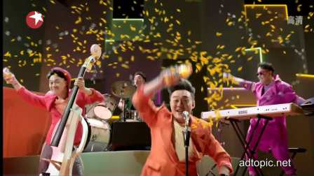陈奕迅 美汁源 2012 乐队版广告