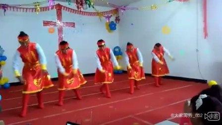 基督教舞蹈(青青草原上)夹沟镇辛丰舞蹈团