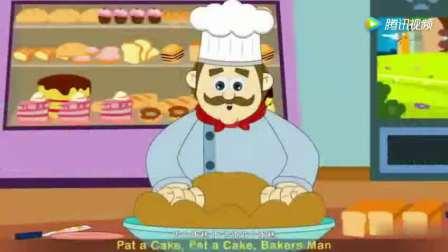 英语儿歌《做蛋糕》