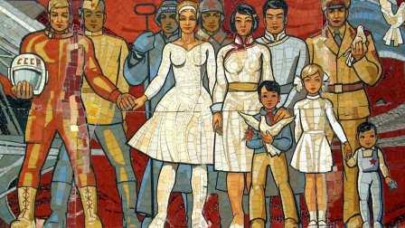 苏联歌曲《俄罗斯与蒙古》
