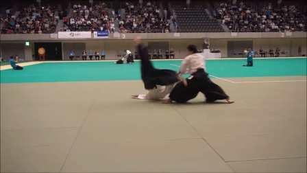 2016 国际合気道大会 铃木俊雄师范 演武