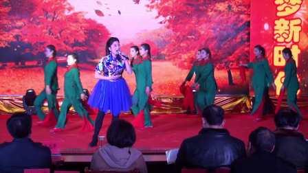 梁子湖区2018年春节联欢晚会之十——舞蹈《永远跟党走》
