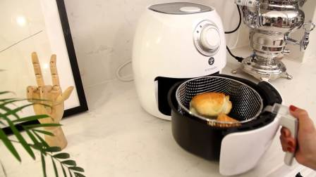 【空气炸锅版烤面包】这样的黄油小卷才算的上精致