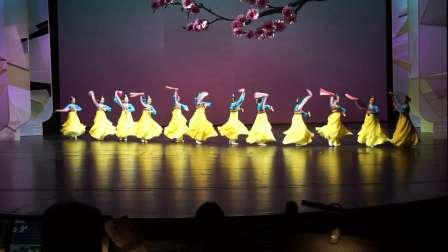 李薇舞蹈工作室原创朝鲜族舞蹈《牙拍舞·春之悦》登上国家大剧院-北京市民新春联欢会