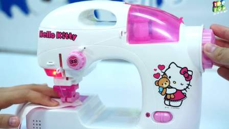hellokitty凯蒂猫儿童缝纫机