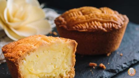 【烘焙帮百秒微视频第十九集教你制作口味独特的法式月饼
