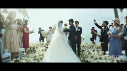 绯系视觉作品 | 苏梅岛洲际婚礼电影