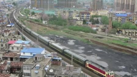 合段3309(原先锋号)牵引K8427宿州三道发车