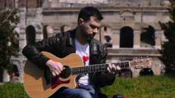 意大利指弹吉他手Alberto Lombardi - Yesterday