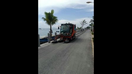 南海明珠 美丽有我-同辉汽车多功能扫路机QTH8501