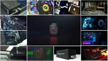 全汉电源Hydro PTM+,全球玩家打造水冷电源机箱
