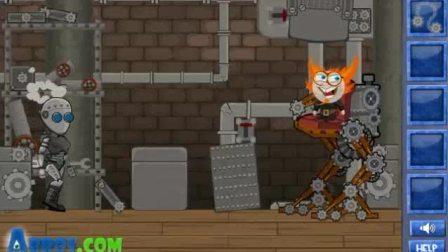 机器人逃生记World Of Steampunk决战boss逃出实验室
