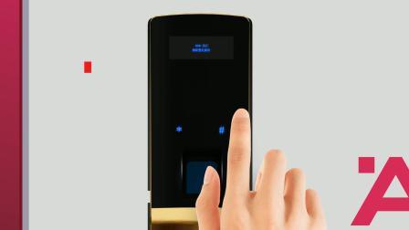 海福乐st5000指纹密码锁安装视频