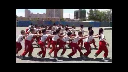 《各种姿势的合作走》优质课(二年级体育,盛红鸽)