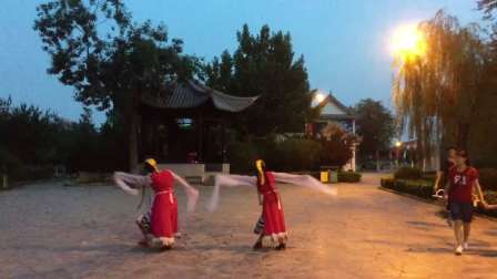 天津飞翔广场舞---梦见你的那一夜