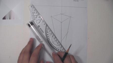 罗丹美术手绘——三点透视画法讲解