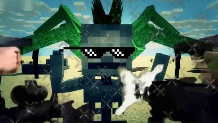 我的世界动画-火柴人的班房挑战-MINEX