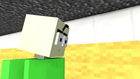 我的世界动画-巴迪版几何冲刺挑战-MINEX