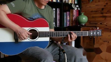 larrivee om03mh custom 独立日纪念 吉他评测