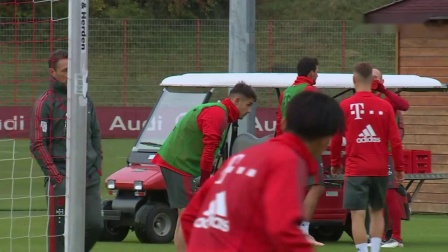 FC Bayern Training after Cup Win