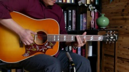 阿迪朗达克云杉是个好东西,Gibson蜂鸟red spruce 吉他评测
