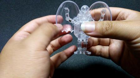 钟爱评测 老变形蛋 第363期 钟爱diy翻模原厂一比一还原透明吸血鬼变形蛋
