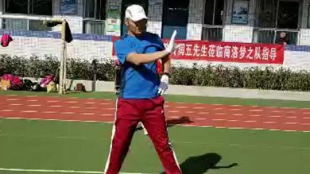训练现场总教练详解梦十四第四节奔跑胯摆运动(1)