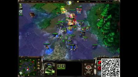 魔兽争霸3 lyn第一视角 vs fly  BO3 万里送人头
