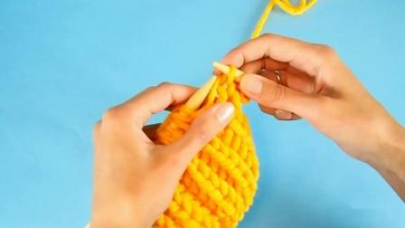 最简单的面包针编织方法