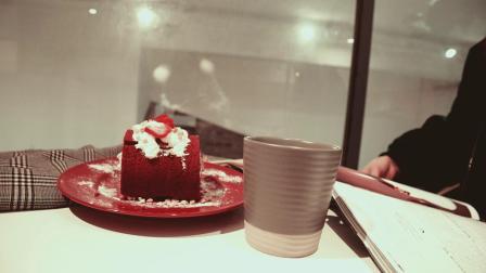 【博物馆一周VLOG 07】红丝绒蛋糕制作教程