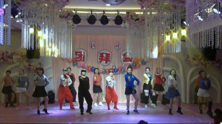 荆州市红叶舞蹈培训中心(晚班学员) 歌舞(抖音舞串烧)