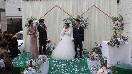 南部县马跃张双婷婚礼纪实