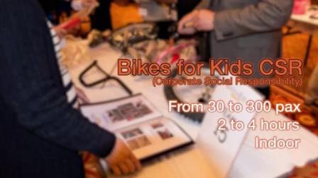 童骑 –团队拓展活动由都会世界呈现