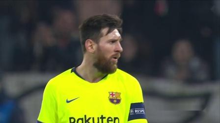 梅西也玩快乐足球欧冠单场狂轰9脚颗粒无收仅一脚射正辣眼睛