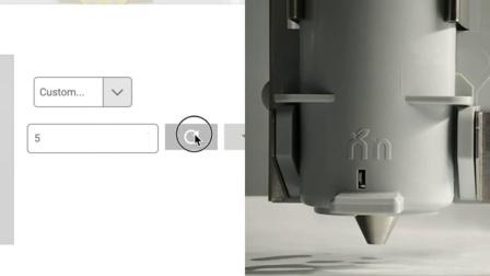 Setting Custom Print Surface