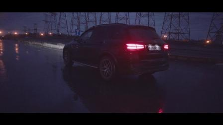 奔驰AMG GLC43 改装Armytrix全段阀门排气 俄罗斯深夜炸街🌙💣