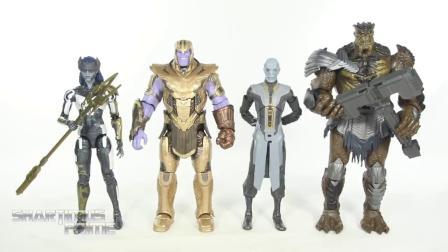 Marvel Legends 灭霸 盔甲版 Armored Thanos 复联4