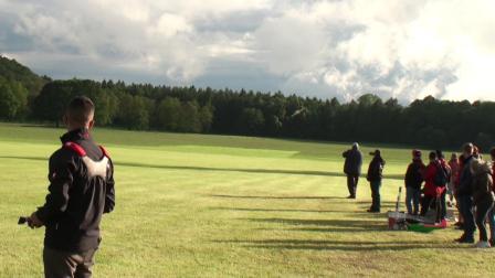 Orel Zohar 在英国weston park第二天飞行