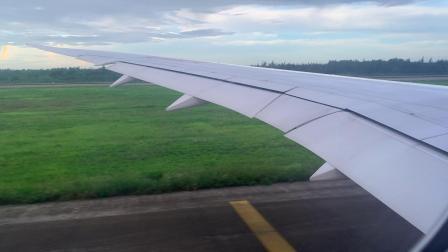海南航空波音787-9 海口美兰国际机场推出起飞全过程
