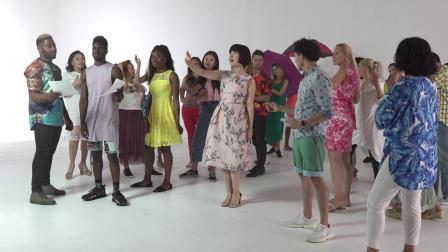 中国著名歌手 陈红 美国MV拍摄花絮