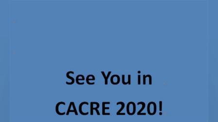 CACRE 2019会议精彩瞬间