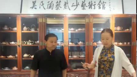 世界传统文化研究院创始人李佳琴与世界传统文化研究院艺术总监吴海龙大师艺术交流