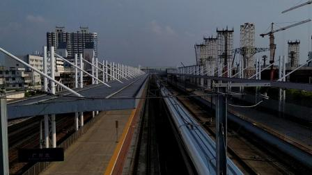 G73(安阳东—深圳北)本务广铁广九段,搭载CRH380AL型车底,高速通过广州北站
