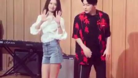 【瘦瘦717】少女时代 林允儿舞蹈 曹政爽 EXIT