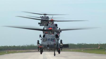 西科斯基HH-60W战斗救援直升机首次四机编队测试
